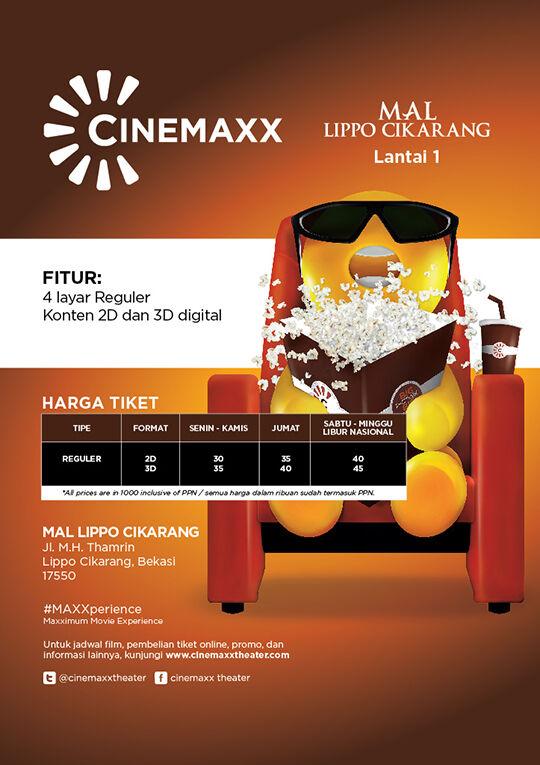 Cinemaxx Mal Lippo Cikarang Features