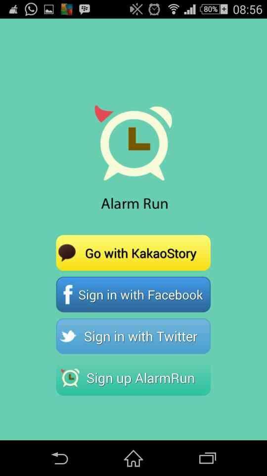 Alarm Run 9