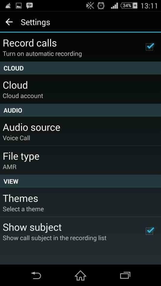 Auto Call Recorder 6