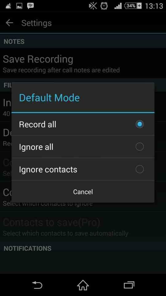 Auto Call Recorder 8