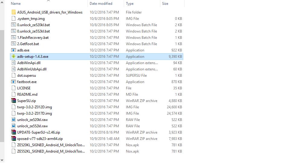cara Unlock Bootloader Asus Zenfone 3, cara  Install TWRP Asus Zenfone 3 dan cara Root Asus Zenfone 3