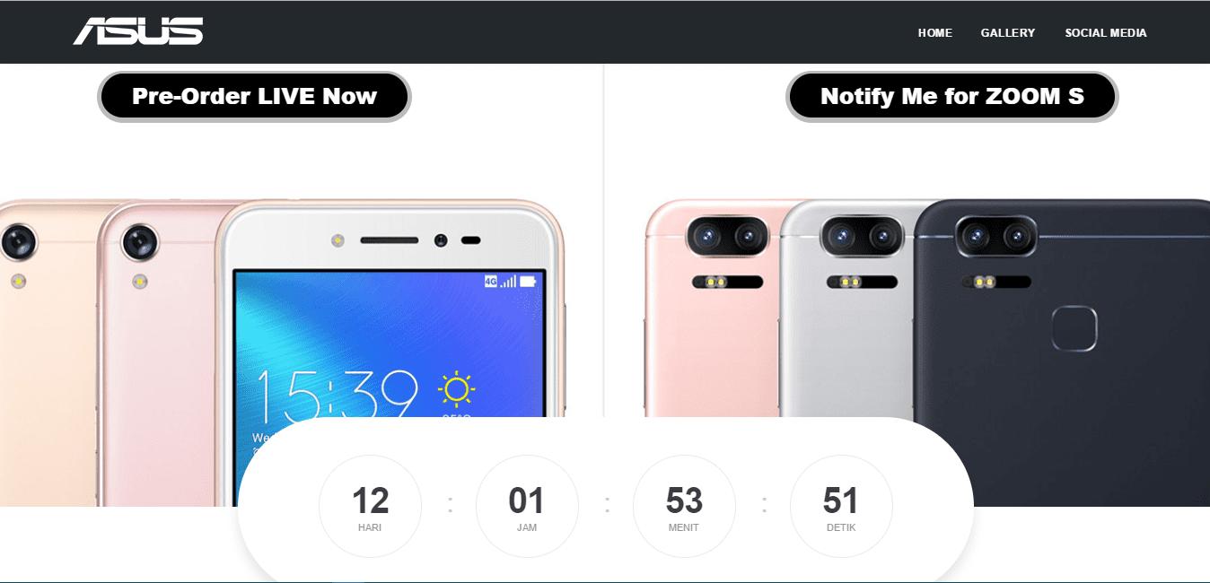 Asus ZenFone Zoom S Segera Dirilis Pre Order Sekarang