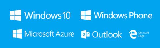 Microsoft Blue Picture