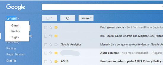 Cara Menggabungkan Duplikat Konten Dengan Gmail