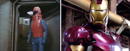 Superhero Dulu Vs Sekarang Iron Man