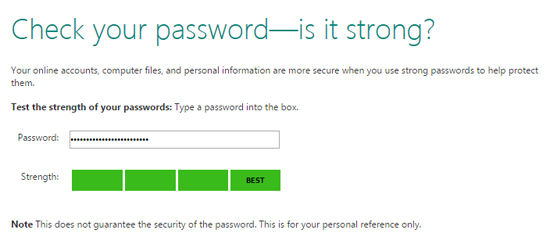 Check Password