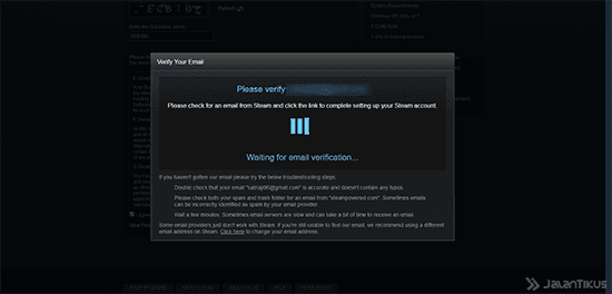 Cara Membuat Akun Steam Website 3