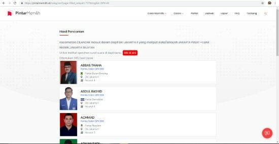 Daftar Situs Informasi Pemilu 5 07c9b
