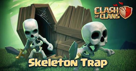 Coc Skeleton Trap