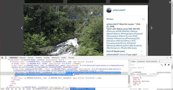 Cara Download Foto Instagram Tanpa Aplikasi 5