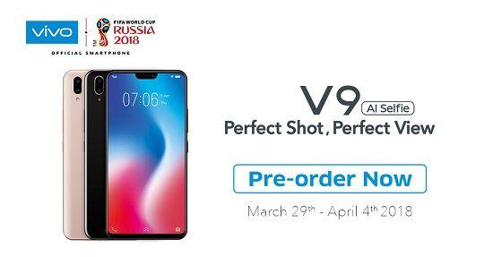 Pre Order Vivo V9 4 April 63626
