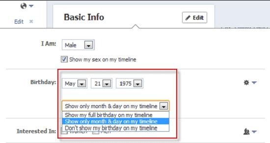 Facebook Hide Age03