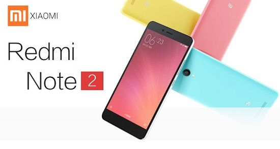 Xiaomi Redmi Note 2 Banner