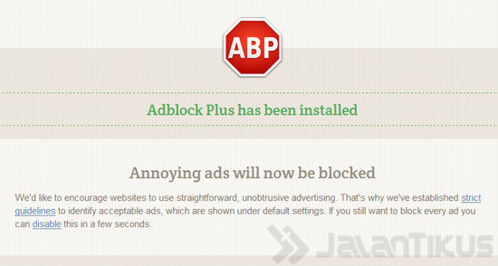 Adblock Firefox3