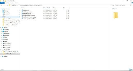 Cara Mengembalikan File Yang Terhapus Di Flashdisk 8 E4807