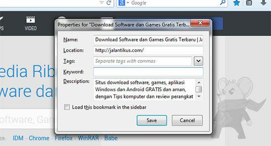 Tips Jitu Firefox4