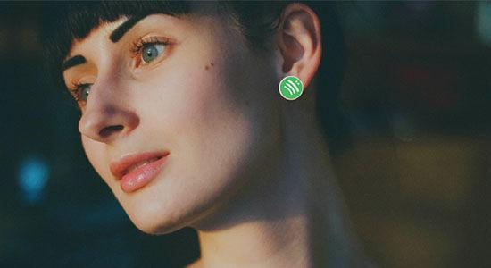 Spotify Earrings