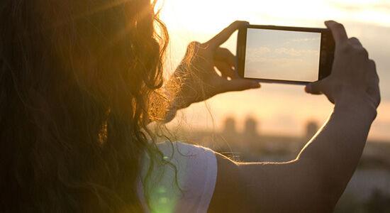 Smartphone Gerhana Matahari 05