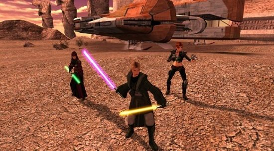 Star Wars Knights of The Old Republic II The Sith Lords Restored Content Mod
