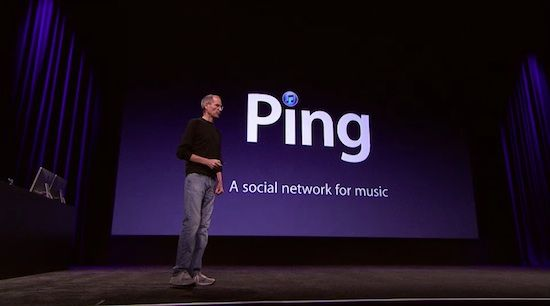Itunes Ping Social Media Network Music 6448d