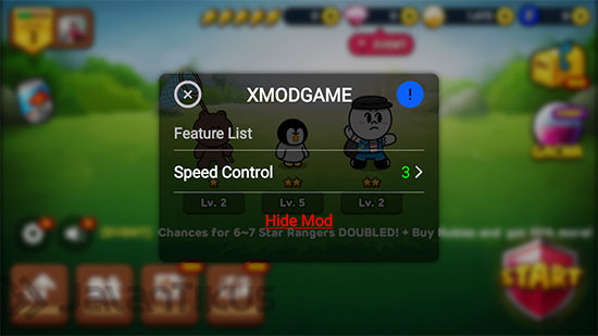 Hack Speed Control Line Ranger Dengan Xmodgames 2