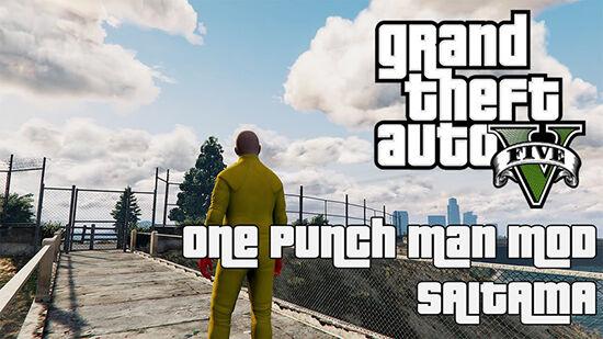 Gta 5 Mod One Punch Man