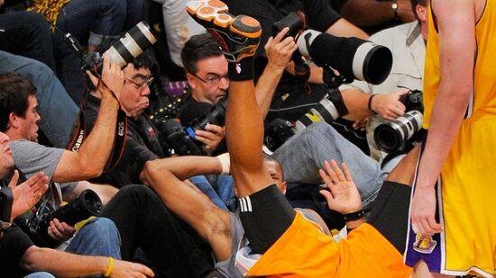 Aksi Berani Para Fotografer Olahraga 3