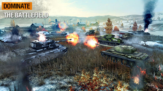 Game Multiplayer Android World Of Tanks Blitz