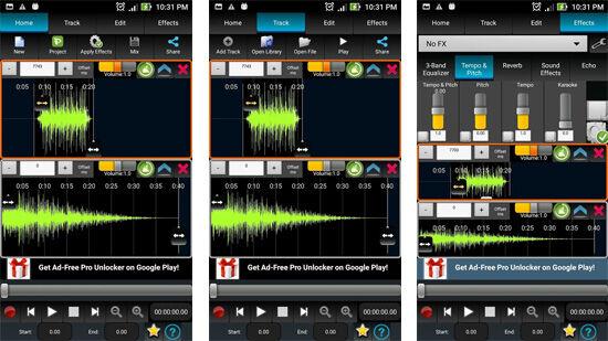 Aplikasi Editing Musik 07