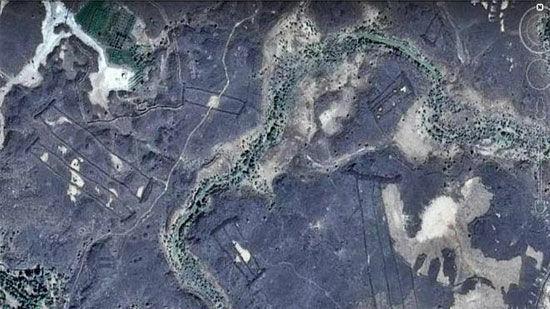 Temuan Google Earth Menghebohkan 2017