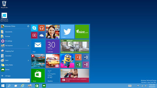 Windows 10 Screenshot1
