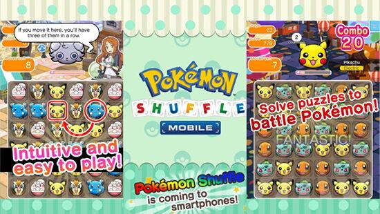 Go Global Pokemon Shuffle Mobile