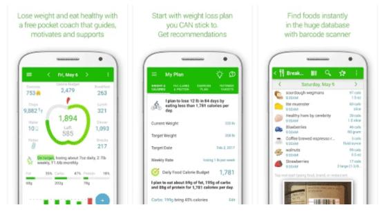 Aplikasi Kesehatan Di Android Calorie Counterjpg