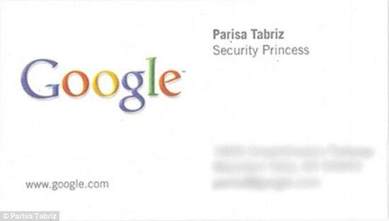 Foto Parisa Tabriz Wanita Asal Iran Yang Jadi Security Princess Google 1