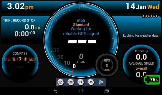 Cara Merubah Android Menjadi Alat Pengukur Kecepatan Speedometer 2