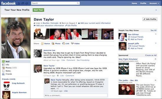 Gambar6 Facebook New Profile
