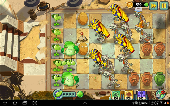 game android paling seru plant vs zombie
