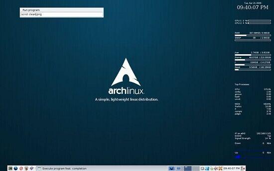 Arch Linux B50ac