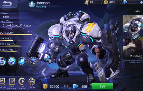 Jhonson 2ddce