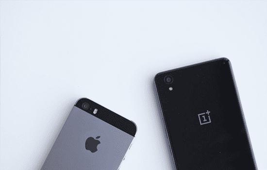 Oneplus X Vs Iphone 5s2