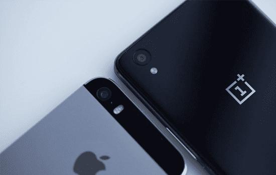 Oneplus X Vs Iphone 5s6