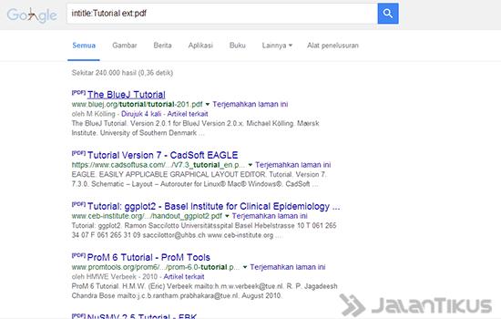 Cara Cari File Di Google 2