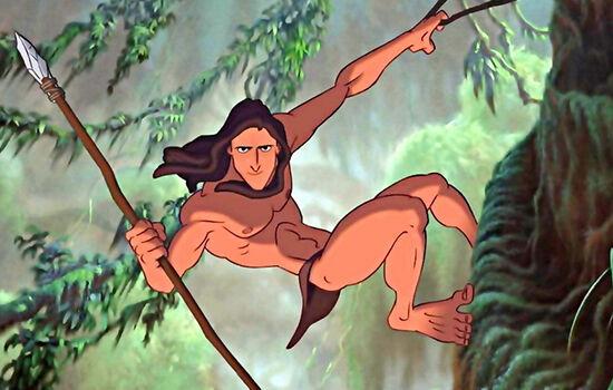 Tarzan Adiknya Ratu Elsa 2