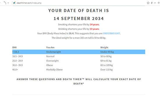 Aplikasi Ramalan Kematian 4