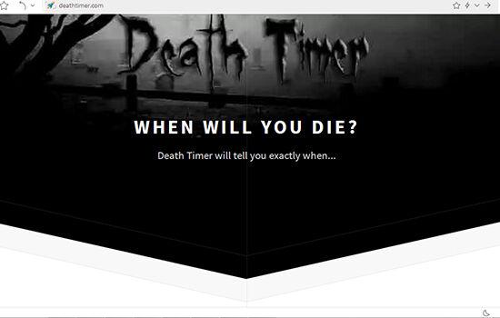 Aplikasi Ramalan Kematian