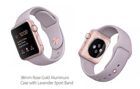 Smartwatch Rose Gold