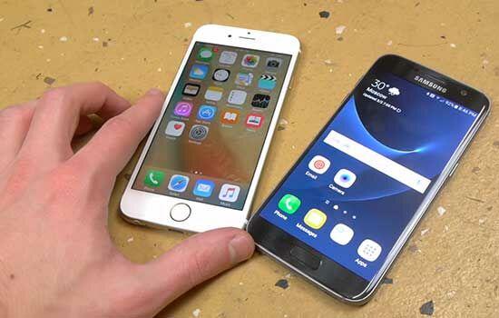 Drop Test Galaxy S7 Vs Iphone 6s 3