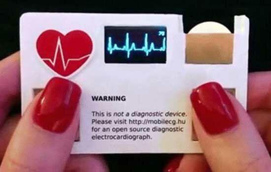 Kartu Nama Pendeteksi Detak Jantung 4