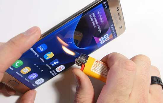 Penyiksaan Samsung Galaxy S7 4
