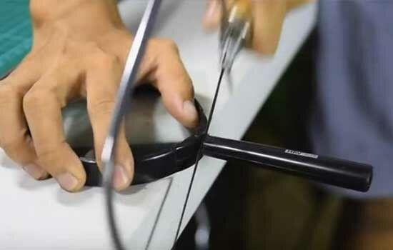 Proyektor Smartphone Dari Kardus Sepatu 2